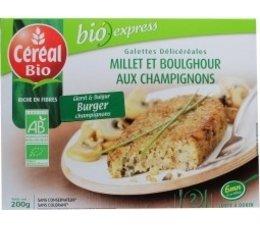 Cereal Gierstburger champignon