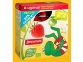 Zonnatura Knijpfruit appel/aardbei kikker