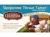 Celestial Season Sleepytime throat tamer wellness tea
