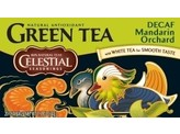 Celestial Season Decaf mandarin orchard green tea