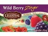 Celestial Season Wild berry zinger herb tea