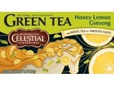 Celestial Season Honey lemon ginseng green tea