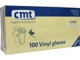 CMT Onderzoekshandschoen vinyl gepoederd L