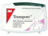 3M Transpore hechtpleister 5 m x 2.5 cm