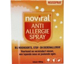Noviral anti allergie spray 500mg