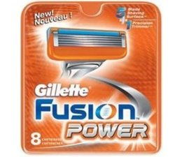 Gillette Fusion Power scheermesjes, 8 stuks