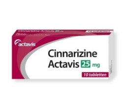 Actavis Cinnarizine 25 mg