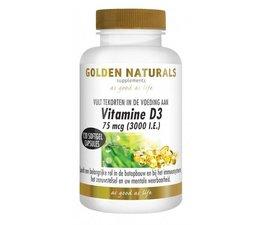 Golden Naturals Vitamine D3 75 mcg