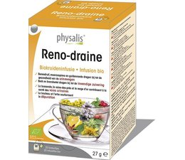 Physalis Reno-draine infusie 20st