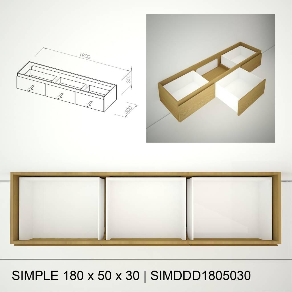 Marike Simpel 180 x 50 x 30