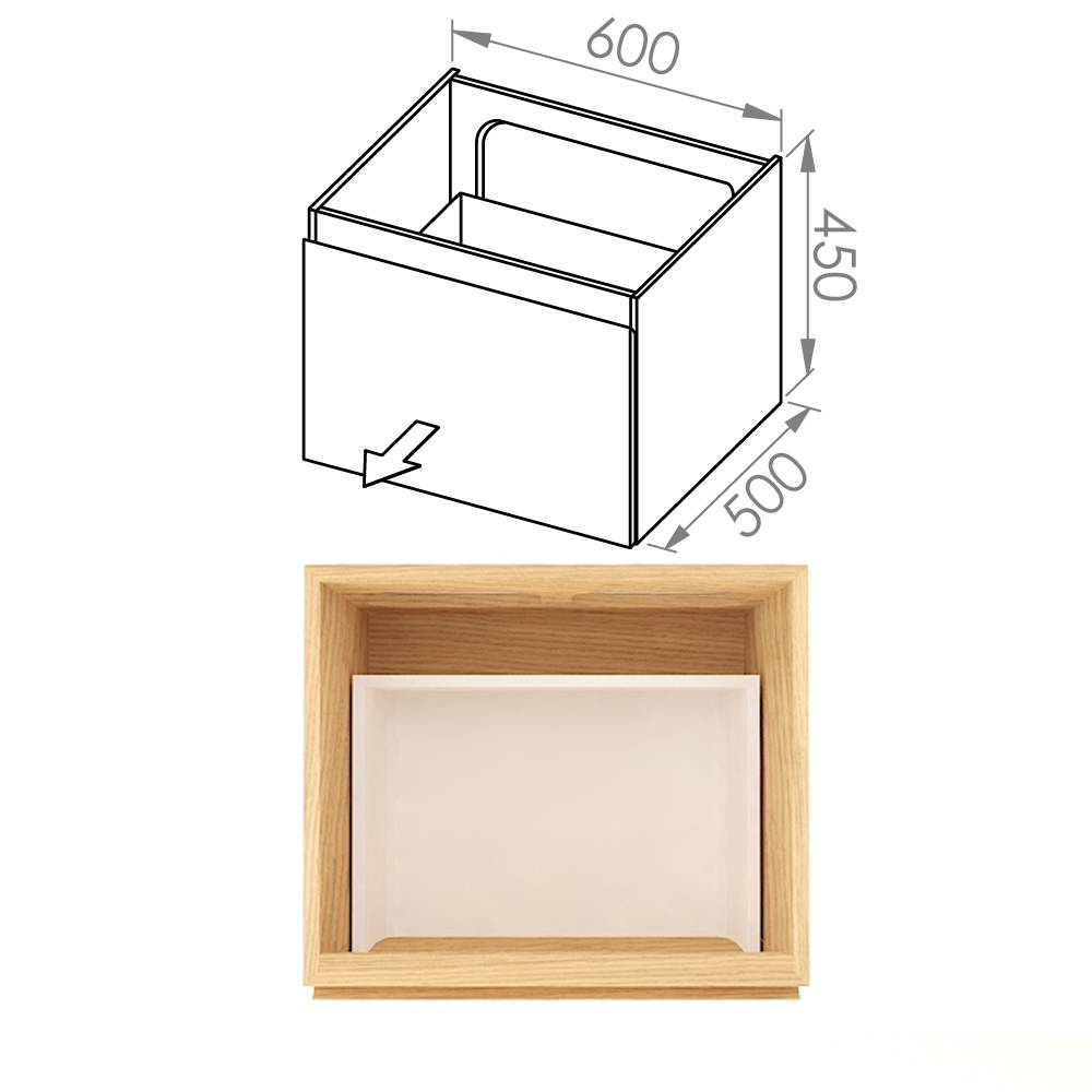 Simple 60x50x45 D