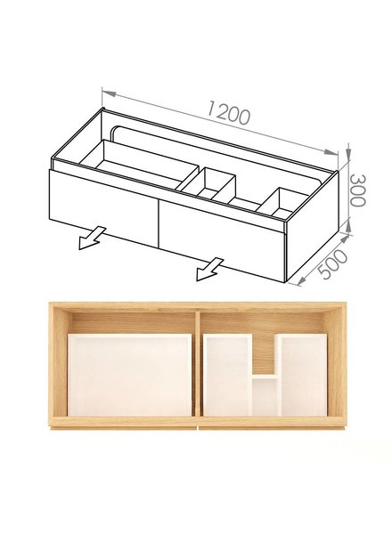Simple 120x50x30 DUD