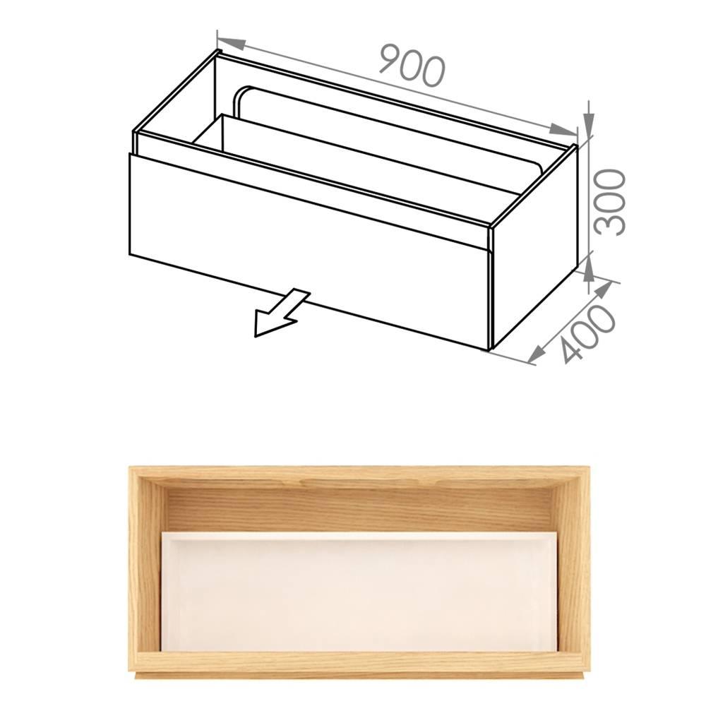 Simple 90x40x30 D