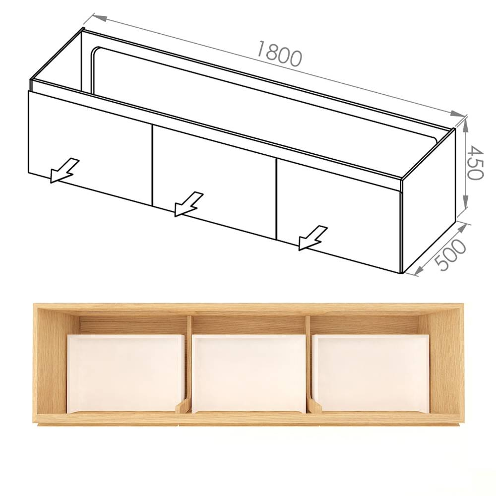 Simple 180x50x45 DDD