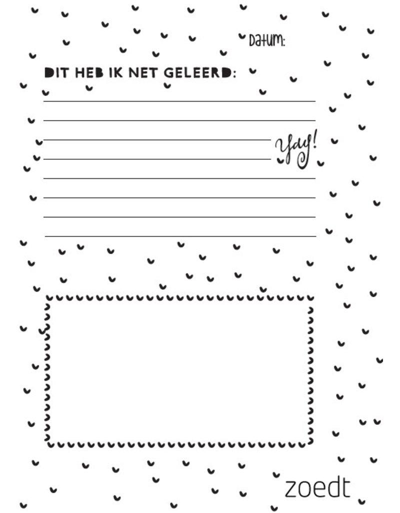 Zoedt Memories en milestones - herinneringenboekje voor kids