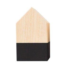 Zoedt Houten huisje - hout zwart