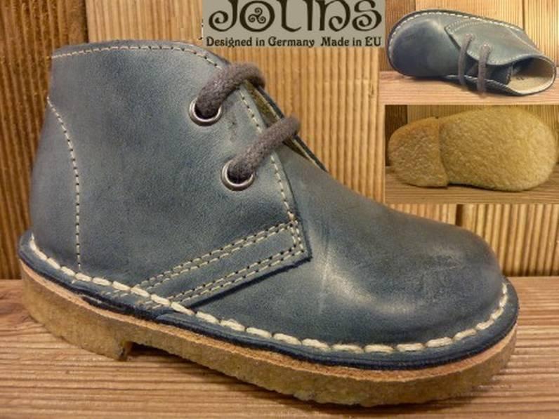 Jolins Schuhe Kinderschuhe KOEL jeans/petrol Gr. 22 Innenmass 14,0 cm