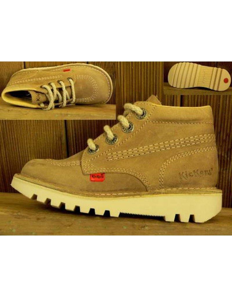 Kickers Schuhe Rallye beige Gr.32 Innenmass 20,4 cm statt 99Euro