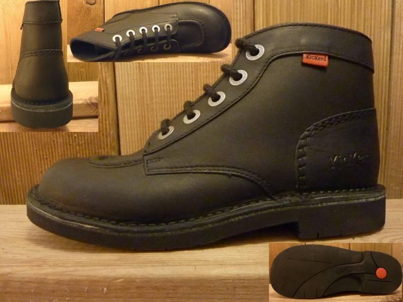 Kickers Schuhe Kick schwarz  Gr. 38
