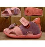Kickers Schuhe Sandalele Boan rose/lila Gr. 22 Innenmass 13,6 cm Lauflernsandale