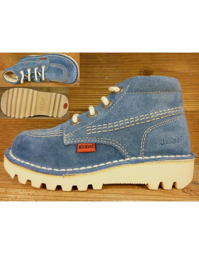 Kickers Schuhe Rallye jeansblau /bleu Gr. 24 Innenmass 15,5 cm