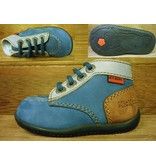 Kickers Schuhe Bonbon marine cognac Gr.20 Innenmass 11,8 cm statt 63Euro