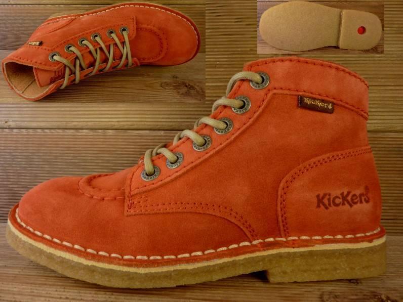 Kickers Schuhe Kick Legend orange Gr.37