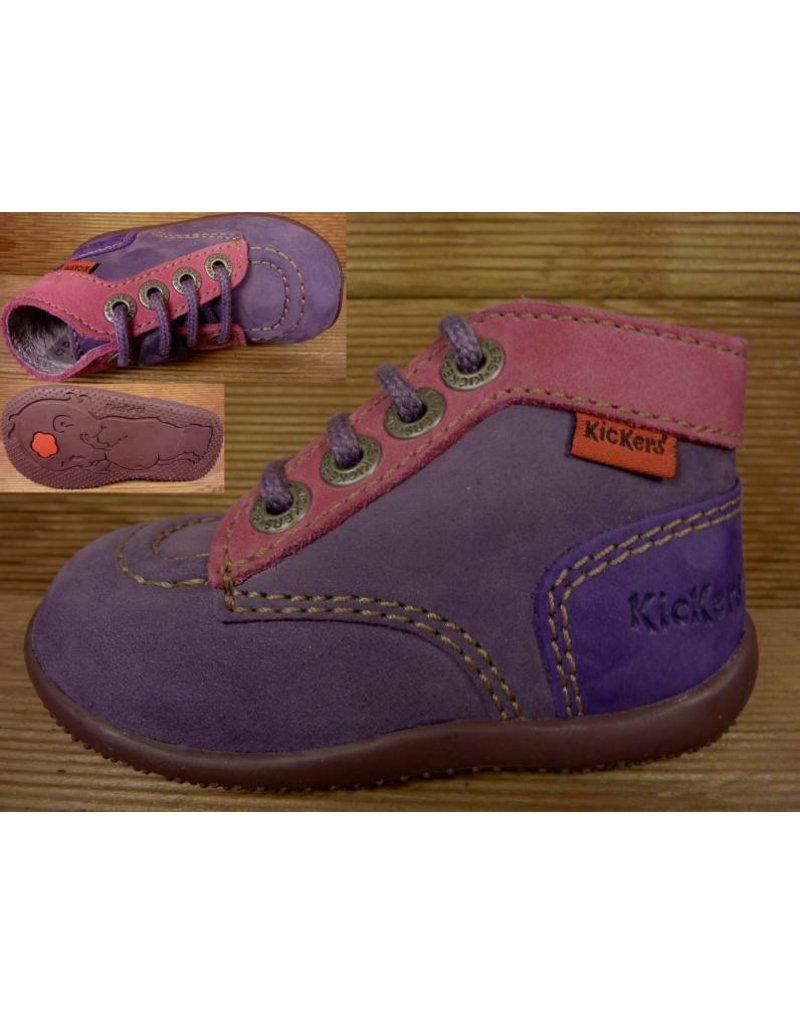 Kickers Schuhe Bonbon violett Gr.22 Innenmass 13 cm statt 62 Euro