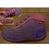 Kickers Schuhe Bonbon violett Gr.24 Innenmass 14,4 cm statt 62 Euro