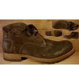 Josef Seibel Schuhe Herrenschuh zum Schnüren dunkelbraun aus weichem Wildleder