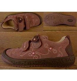 Richter Kinderschuhe Schuhe für Maedchen mit Klett rosa Gr. 27 Innenmass 17,0 cm
