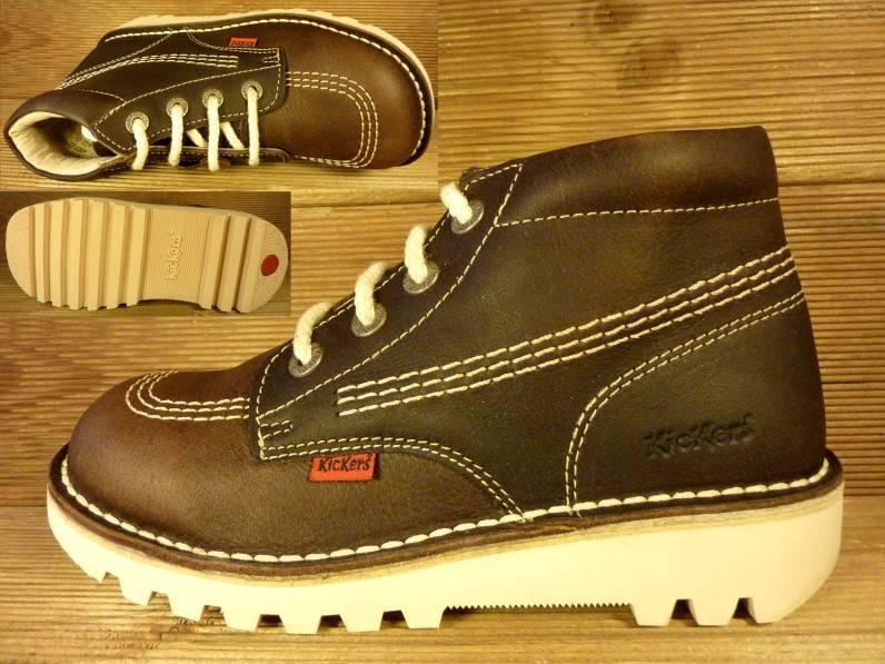 Kickers Schuhe Rallye marron/darkbrown  Gr. 29    Innenmass 18,5  cm