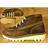 Kickers Schuhe Rallye marron/darkbrown Gr. 32 Innenmass 20,4 cm