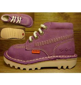 Kickers Schuhe Rallye lila/rose fonce Gr. 26   Innenmass 16,9 cm