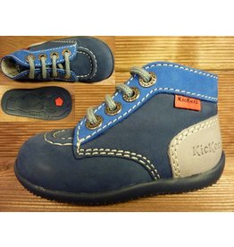 Kickers Schuhe Bonbon marine eisblau Gr.20 Innenmass 11,8 cm statt 63Euro
