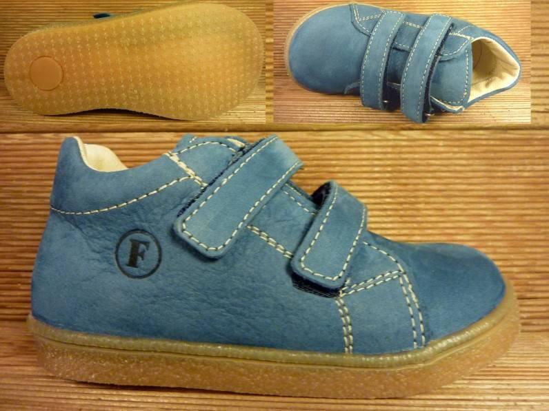 Froddo Kinderschuhe Lederboots jeansblau/Nubuk Gr.20   Innenmass 12,0 cm