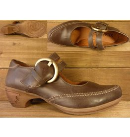 Double You Schuhe by Dessy Spangenschuh mocca Groesse 36