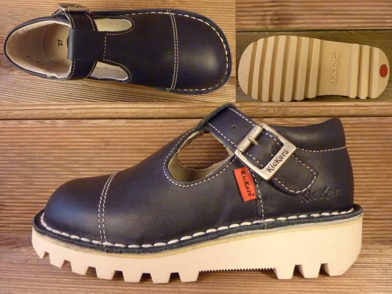 Kickers Schuhe Kick Bello marine Gr.27 Innenmass 17,3 cm statt 69Euro