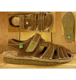 El Naturalista Schuhe Sandale braun Groesse 36 mit Zehenschutz Innenmass 23,0 cm