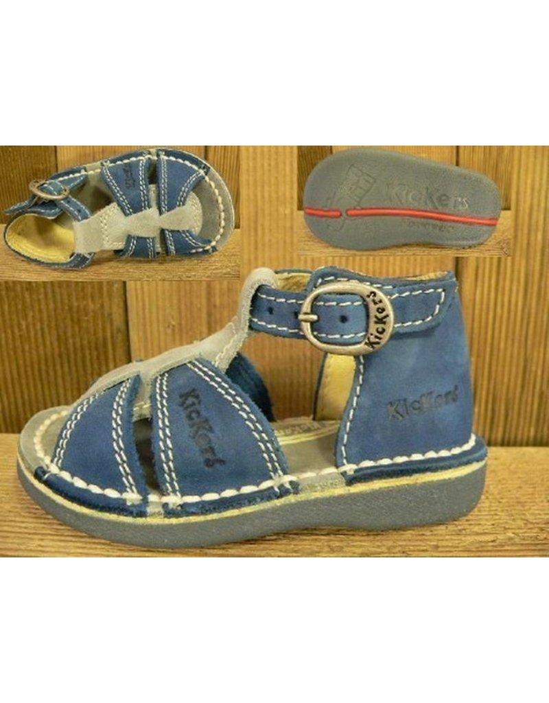 Kickers Schuhe Foxi blau-blau Gr. 19  Innenmass 11,9 cm statt 65Euro