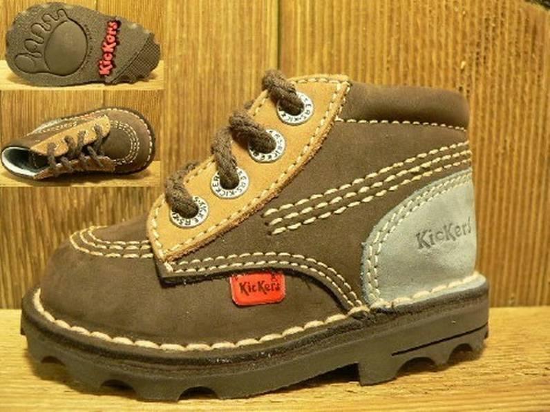 Kickers Schuhe Gagbul ebo-plu  Gr. 20  Innenmass 12,0 cm statt 75Euro