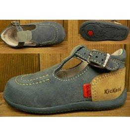 Kickers Schuhe Bonbek bleu-beige Gr.20 Innenmass 12,1 cm