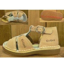 Kickers Schuhe Foxi blau-natur Gr. 20  Innenmass 12,5 cm statt 65Euro