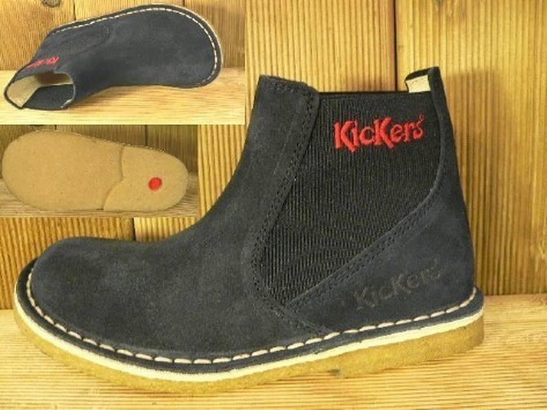 Kickers Schuhe Reknox marine Gr. 26 Innenmass 16,3 cm