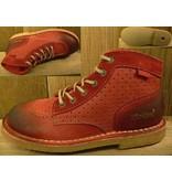 Kickers Schuhe Kicklegend bordeaux-perfo  Gr. 28 Innenmass 18,3 cm statt 99Euro