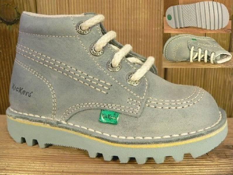 Kickers Schuhe Rallye hellblau/ciel  Gr. 33  Innenmass 20,8  cm