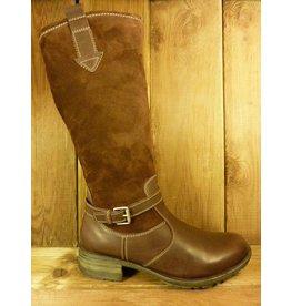 Josef Seibel Schuhe Stiefel mit warmen Winterfutter braun  auch für Einlagen