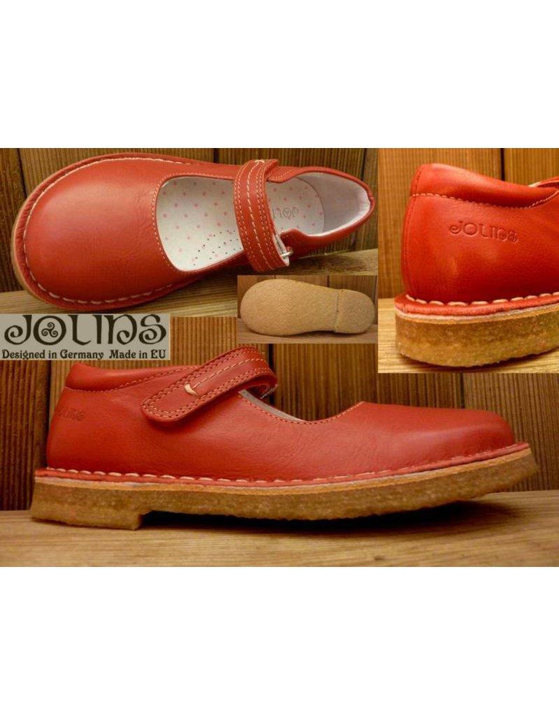 Jolins Schuhe Celia rot/red Gr. 42 pflanzlich gegerbt auch für Einlagen