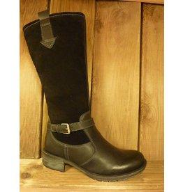 Josef Seibel Schuhe Stiefel mit warmen Winterfutter schwarz  auch für Einlagen