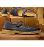 Jolins Schuhe Ballerina Clare dunkelblau Gr. 28 Innenmaß 17,8 cm auch für Einlagen geeignet Kreppsohle vegetabil gegerbt